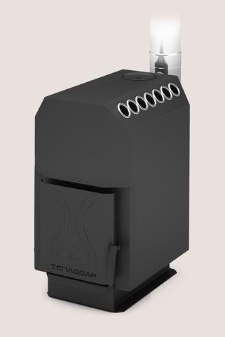 Отопительная печь ТОП-модель-200 со стальной дверцей
