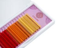 Цветные ресницы Enigma (микс)