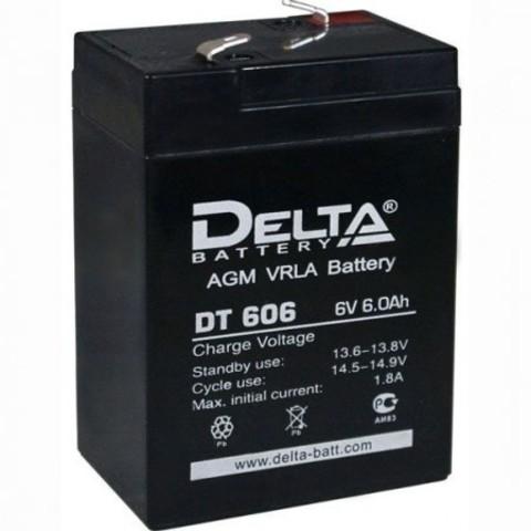 DT 606 аккумулятор 6В/6Ач Delta