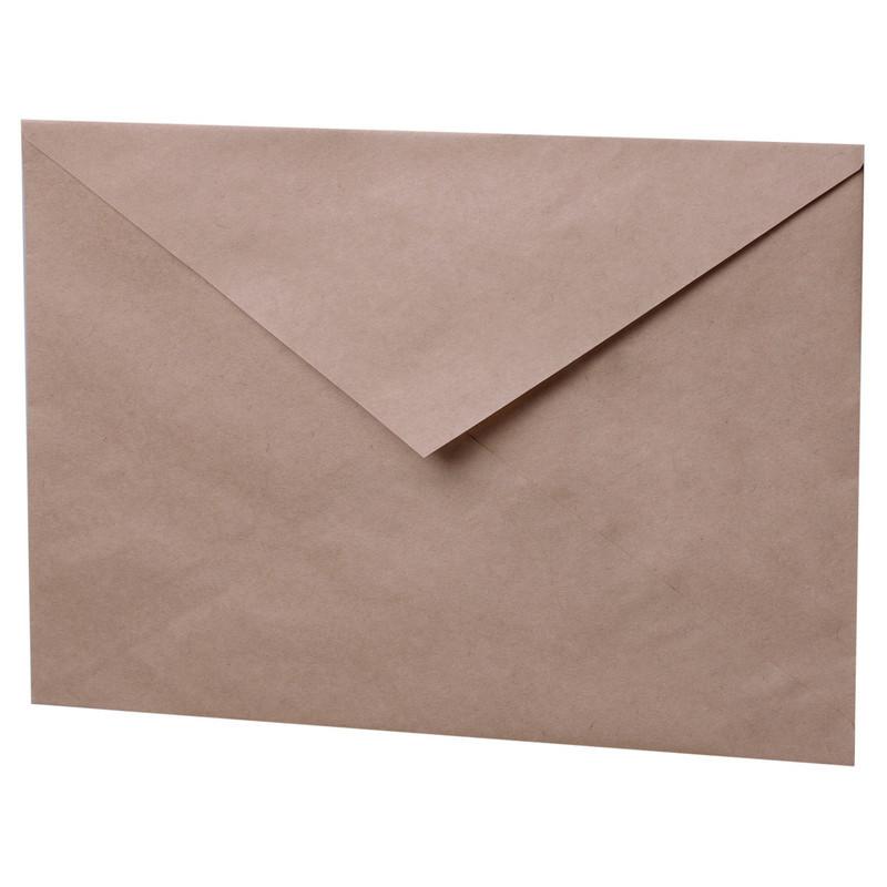 Конверт С3 80 г/кв.м крафт (500 штук в упаковке)