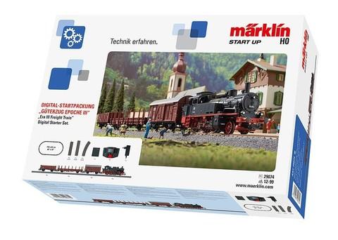 Marklin 29074 Цифровой стартовый набор железной дороги