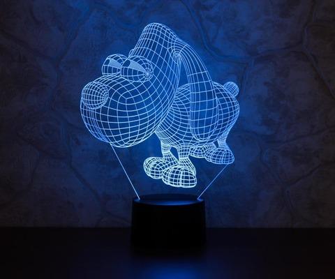 Лампа Пёс