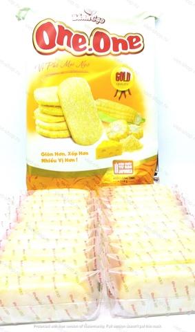ьетнамские рисовые крекеры со вкусом кукурузы и сыра One.One, 118гр.