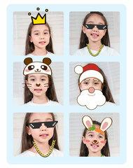 детский цифровой фотоаппарат печать фото маски и фильтры