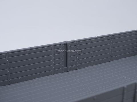KRAZ-257 B1 board beige-gray AutoHistory 1:43