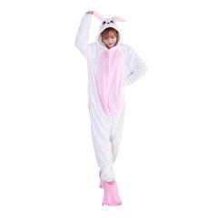 Кигуруми Заяц бело-розовый