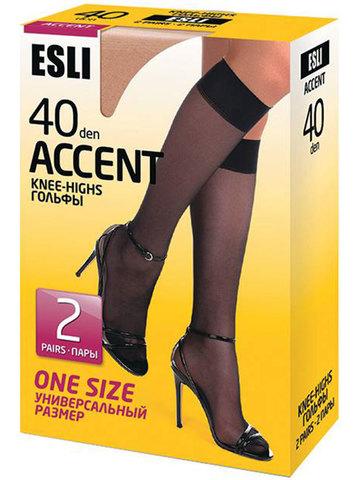 Гольфы Accent 40 (2 пары) Esli