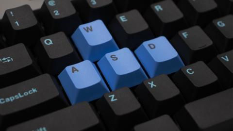 Клавиши WASD