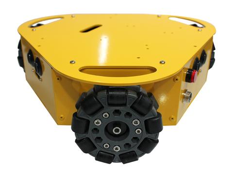 Зх колесная платформа Nexus на omni-колесах, 100мм