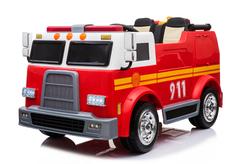 Пожарный электромобиль BARTY 911 двухместный красный
