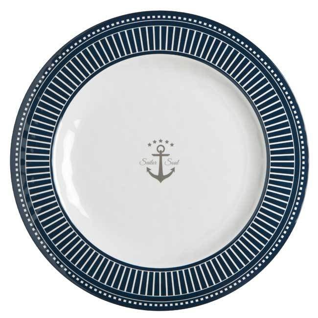 MELAMINE DINNER PLATE SAILOR SOUL