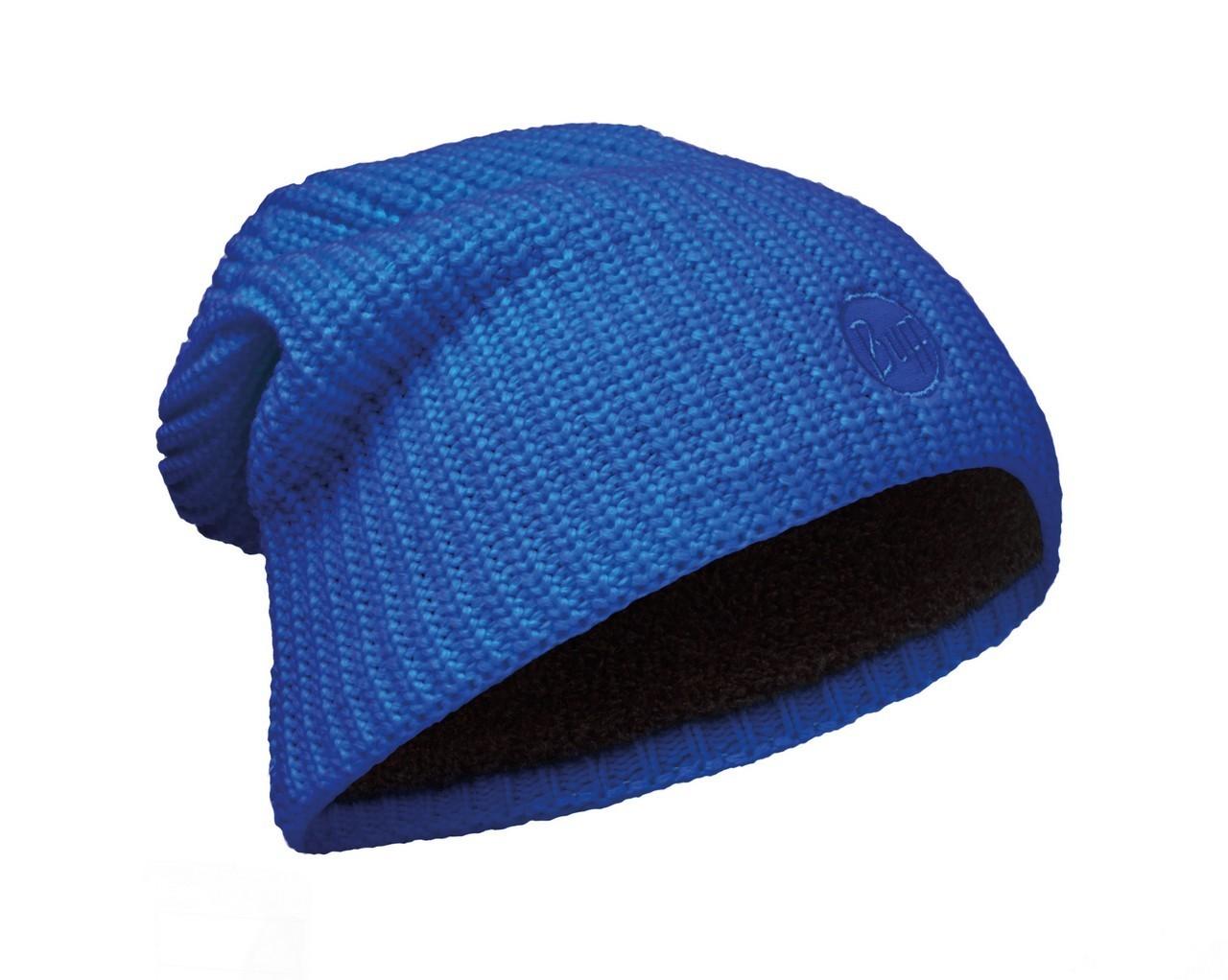 Длинные шапки Вязаная шапка-бини с флисовой подкладкой Buff Drip Blue Skydiver 110981.703.10.00.jpg