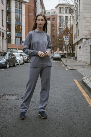 Костюм с базовым джемпером «Grey»