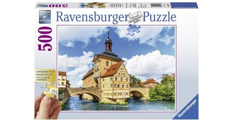 Puzzle - Town Hall, bamberg        500p