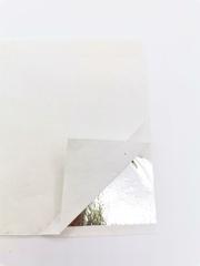 Зеркальная поталь, Серебро, лист 9х9, набор 10 листов,ProArt