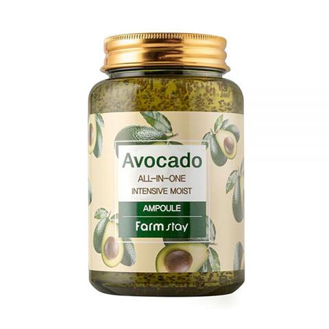 Сыворотка Farmstay Avocado All-in-one Intensive Moist Ampoule 250ml