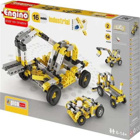 Engino Техника - 16 моделей, серия Пико