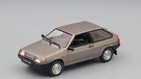 VAZ-2108 Satellite Sputnik 1984 gray 1:43 DeAgostini Auto Legends USSR #264