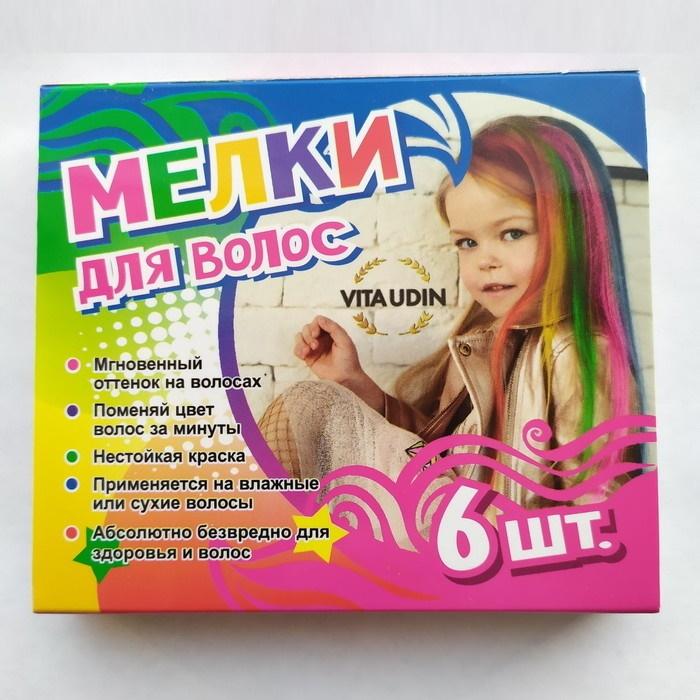 Мелки для волос, 6 шт фото