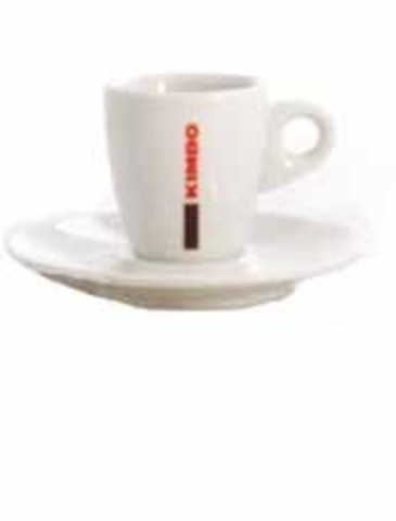 Кофейная пара для эспрессо 70 мл. с логотипом Kimbo