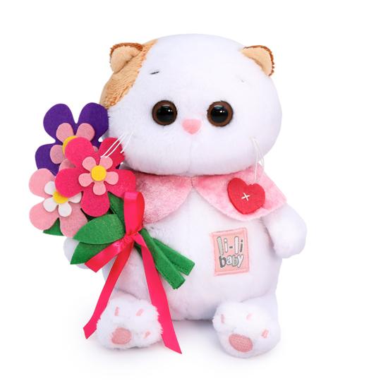 Ли-Ли Baby с цветами из фетра