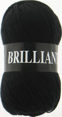 Пряжа Brilliant Vita 4952 черный фото