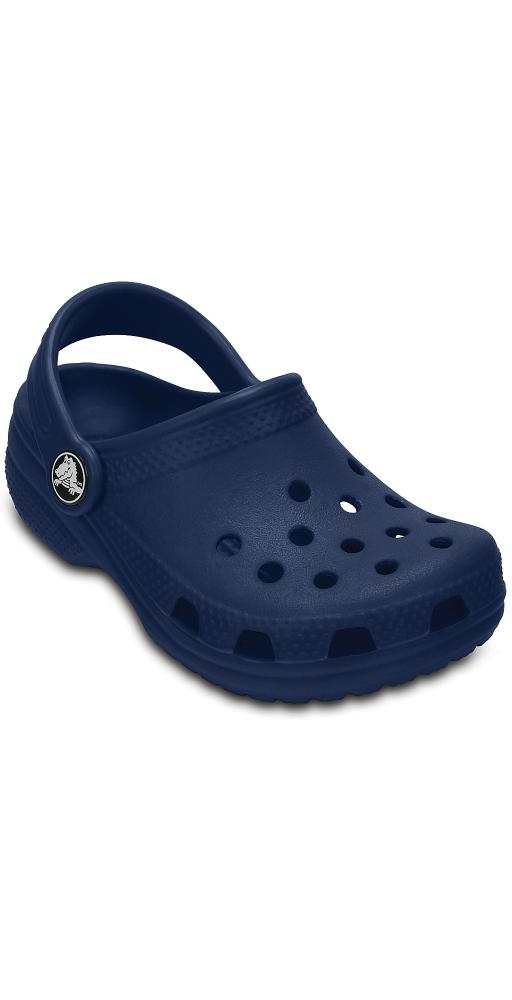 Купить детские сабо Крокс (Crocs) Classic Kids Navy