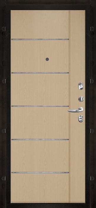 Внутренняя. Беленый дуб. Рисунок пвх МД 002 m964