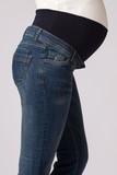Джинсы для беременных 03980 синий