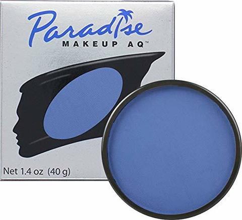 MEHRON Профессиональный аквагрим Paradise, Аквагрим Drk. Blue (Темно-синий), 40 г