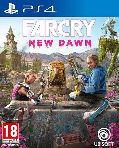 PS4 Far Cry: New Dawn (русская версия)