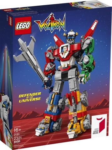 LEGO Ideas: Вольтрон 21311 — Voltron — Лего Идеи
