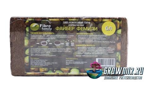 Кокосовый торф 500 гр (6л)