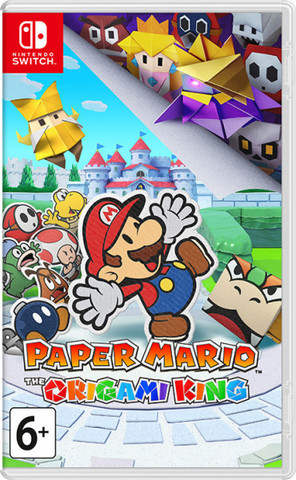 NS: Paper Mario: The Origami King (английская версия)