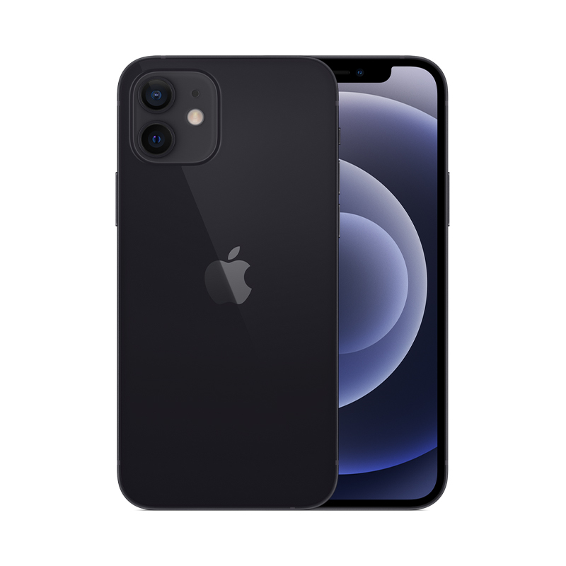 iPhone 12, 256 ГБ, чёрный