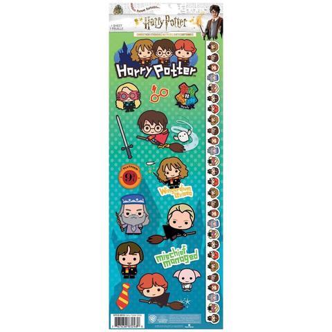 Стикеры 12 х30 см-Paper House Cardstock Stickers -Harry Potter Characters