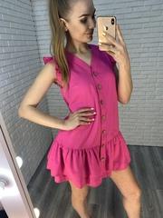летнее платье +на пуговицах nadya