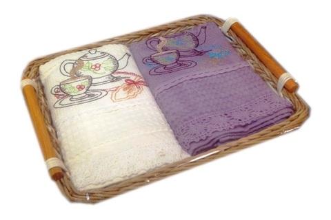 Полотенце в корзинке  ANATOLIA - АНАТОЛИЯ  50х70 Maison Dor  Турция