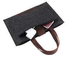 Войлочная сумка Gmakin для Macbook Air/Pro 13.3 Черная