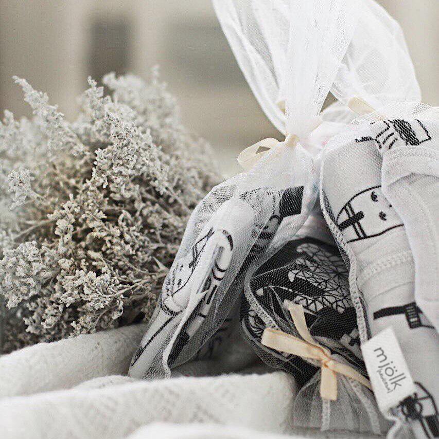 Утепленный спальный мешок Mjölk Олени в снегу