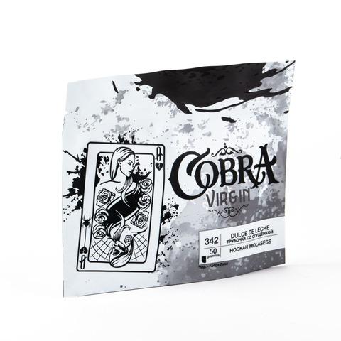 Кальянная смесь Cobra VIRGIN Трубочка со сгущенкой (Dulce De Leche) 50 г