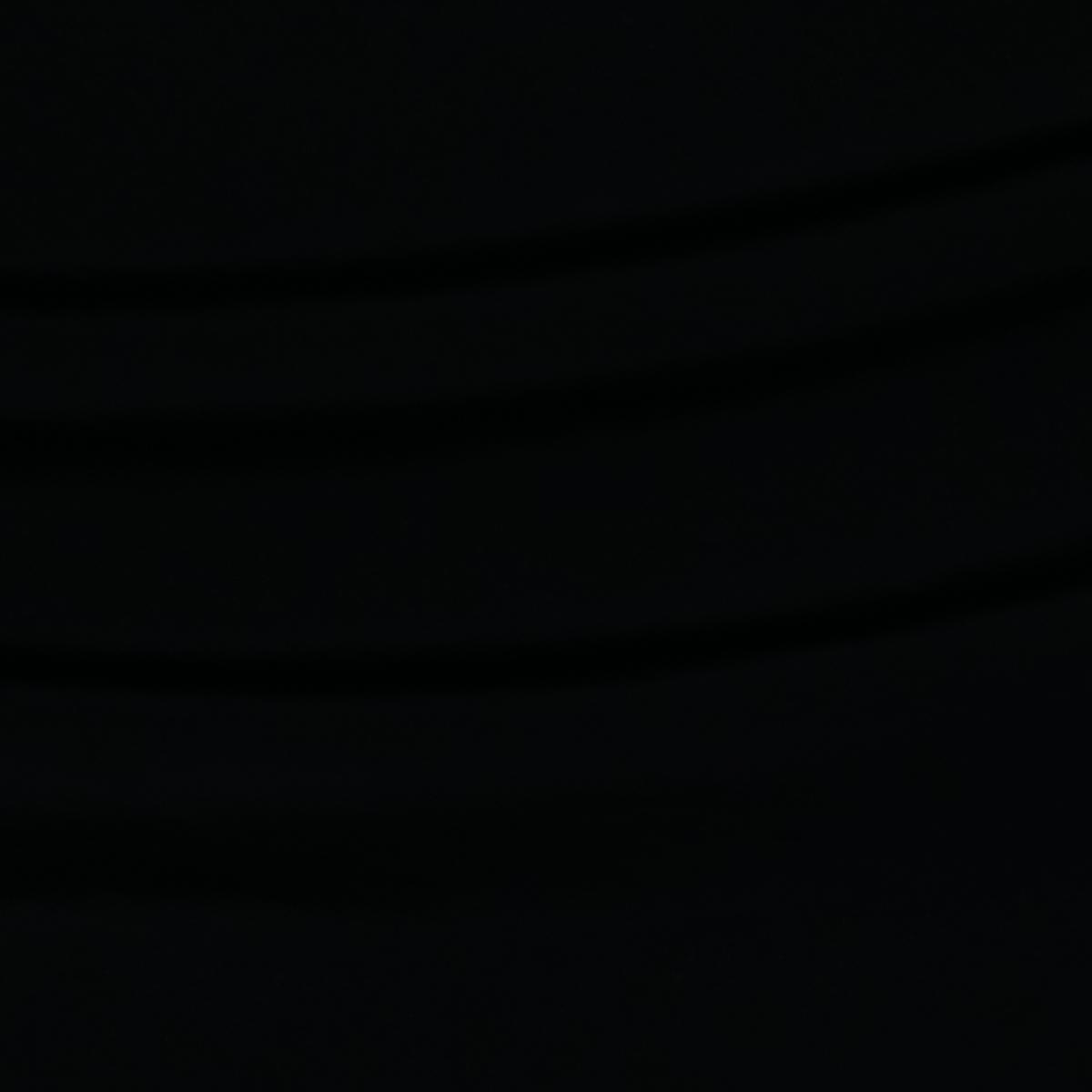 Полу-шёлковое полотно чёрного цвета