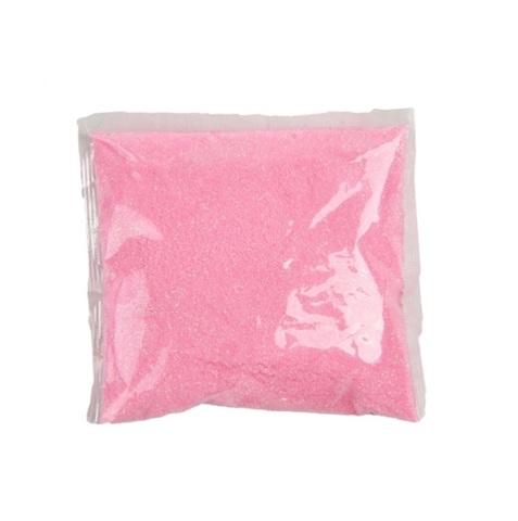 Блёстки в пакетике 80 г, цвет: нежно-розовый, флуорисцентные