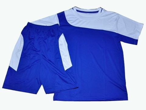 Форма футбольная. Цвет синий с белым. Размер 32 :(Ке001):