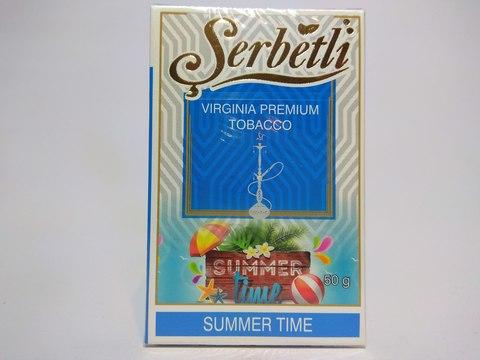 Табак для кальяна SERBETLI Summer Time 50gr