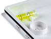 Спиртовой уровень для удобства монтажа автономного светильника аварийного освещения UP LED LITE