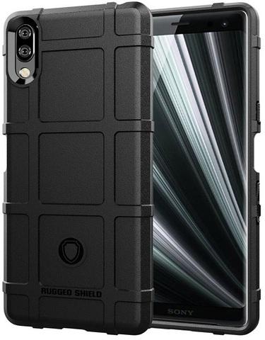 Чехол Sony Xperia L3 цвет Black (черный), серия Armor, Caseport