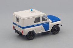 UAZ-469 Militia white-blue 1:43 DeAgostini Auto Legends USSR Police #4
