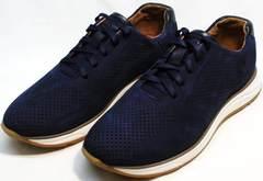 Хорошие кроссовки на каждый день мужские Faber 1957134-7 Blue