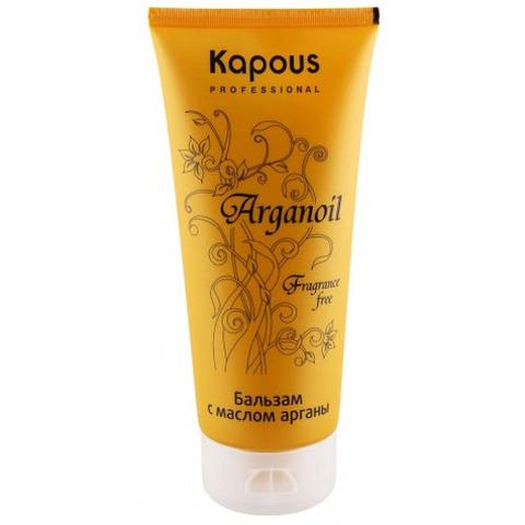 Бальзам для волос с маслом арганы,KAPOUS ARGANOIL, 200 мл.